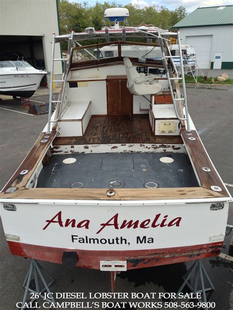 lobster boat conversion for sale 26 jc cbell s boat works inc