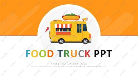 Food Truck Ppt Wide Goodpello Food Truck Powerpoint Templates