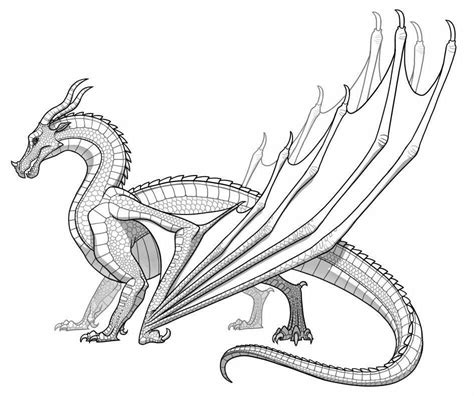 wings of fire coloring pages coloring pages
