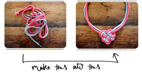 how to make celtic knot jewelry makethisintoheartnecklace