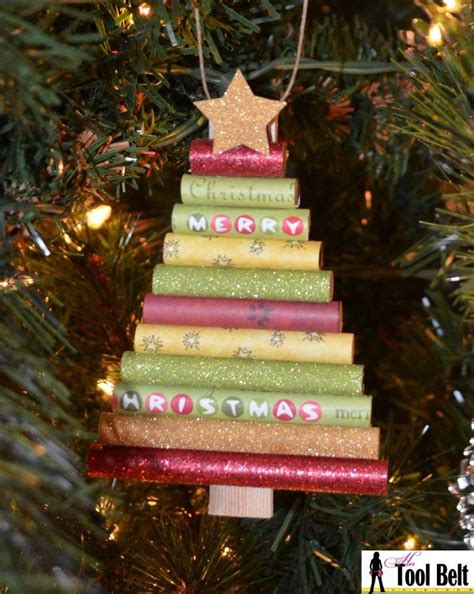rolled paper christmas tree ornament pictures photos and