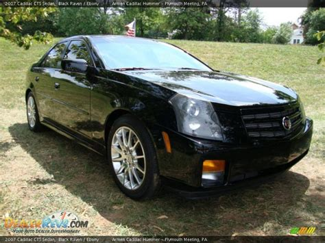 2007 cadillac cts black 2007 cadillac cts sedan black photo 5