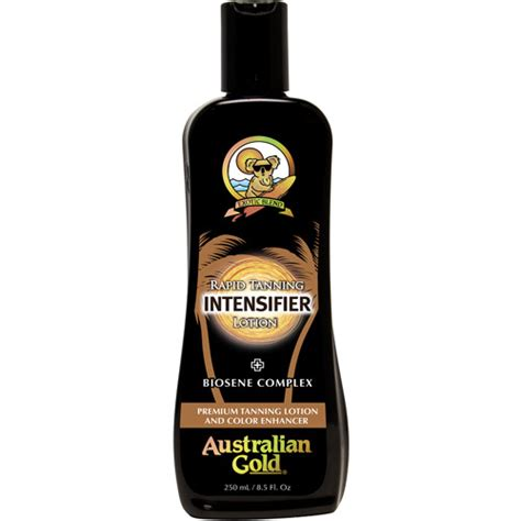 australian gold tanning bed lotion australian gold rapid tanning intensifier lotion 8 5 fl