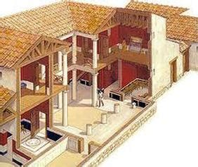 Open Floor House Plans housing in athens ancient greece