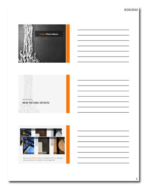 powerpoint tutorial handout the secrets of awesome powerpoint handouts laura m