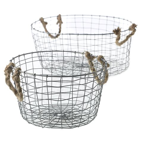 decorative wire baskets wholesale wire basket accent decor