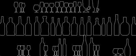 bottles  autocad  cad   kb bibliocad