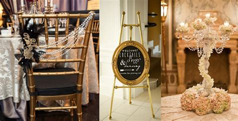 the great gatsby home decor the great gatsby wedding decor inspiration and ideas