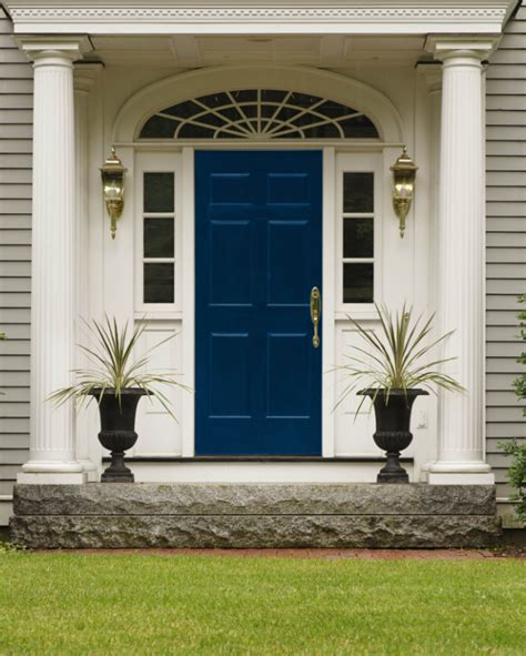 Blue Exterior Door Navy Blue Doors Front Door Freak