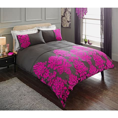 black and pink bedding damask black and pink bedding set double