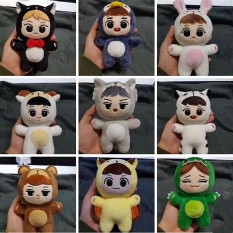Exo Doll Chen Baekhyun Whitekyoong kpop exo animal soft plush toystuffed doll handmade