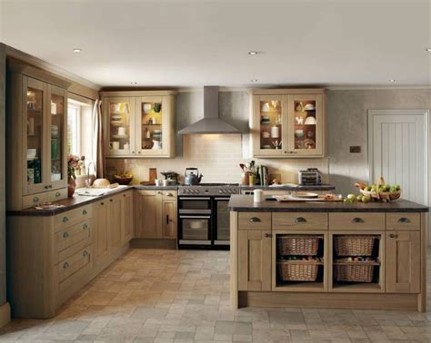 Light Oak Kitchen Howdens Tewkesbury Light Oak Kitchen Ideas