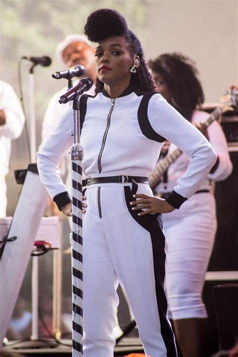 Look A Like Hnm Hm Hm Simple Sling Mini Leather Bag Brown Rantai Gold how figures janelle monae nails the monochrome look and how you can mirror