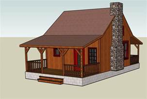 Tiny Cabin Plans Google Sketchup 3d Tiny House Designs