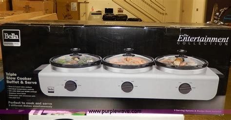 cooker buffet server cooker buffet server no reserve auction on tuesday march 25 2014