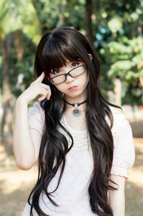 long blonde asian hairstyles 62 best images about eyeglasses world on pinterest geek