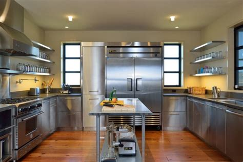 stainless steel kitchen design 18 beautiful stainless steel kitchen design ideas