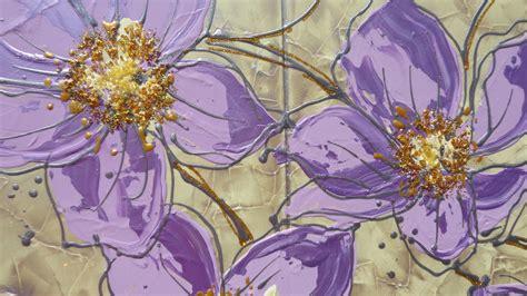 quadri di fiori moderni stelo di fiori lilla vendita quadri quadri