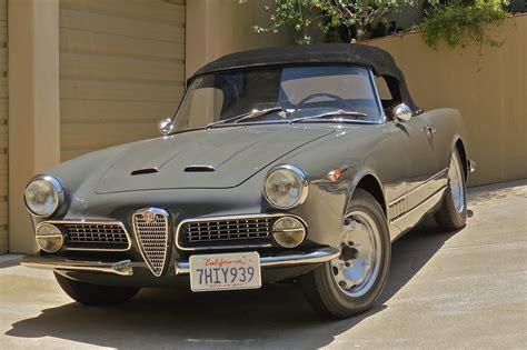 1962 Alfa Romeo by 1962 Alfa Romeo 2000 Spider Http Www Charlescrail