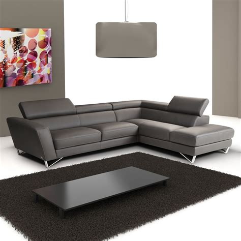 black italian luxurious leather sectional sofa