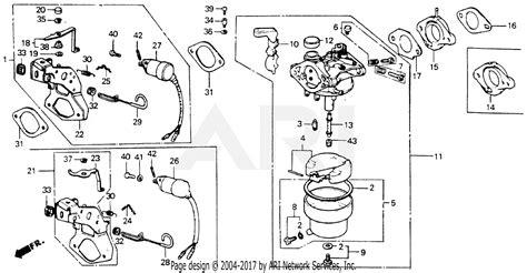 honda eb  generator jpn vin ge  parts diagram  carburetor