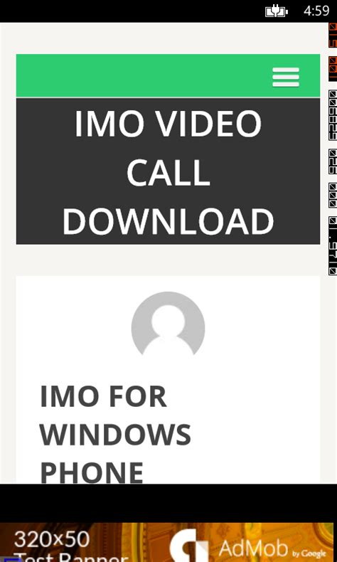 imo free download for windows phone 8 imo free video calls and chat free windows phone app