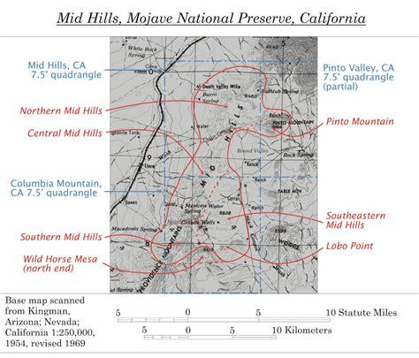 San Bernardino County Property Records Photo Base Map Showing Location Of Mid San Bernardino County California