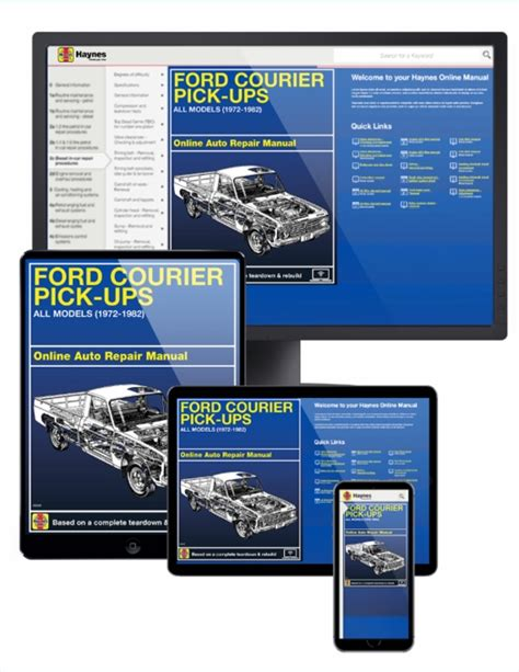 haynes ford courier pick up 1972 1982 auto repair manual ford courier pick up online service manual 1972 1982