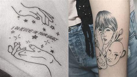 beautiful bts themed tattoos sbs popasia