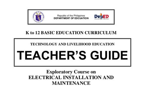 Home Hardware House Design k to 12 electrical teacher s guide