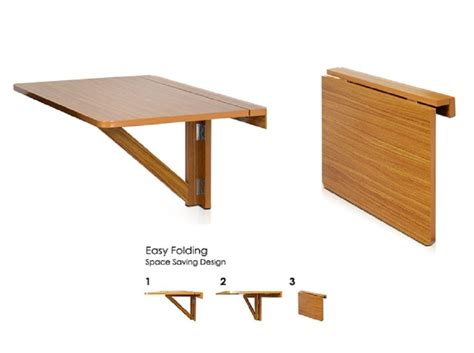 Folding Table Attached To Wall Terragenesis Wall Mounted Folding Table Small Folding Table