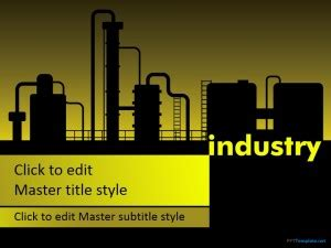 Free Manufacturing Industry Ppt Template Electronics Engineering Ppt Templates Free
