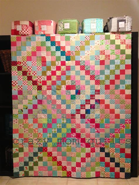 Quilt Pictures by Quilts Chopped Rhubarb Quilt Top