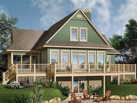 waterfront cottage plans plan 027h 0104 find unique house plans home plans and