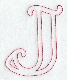 the letter j machine embroidery designs at embroidery library 1660