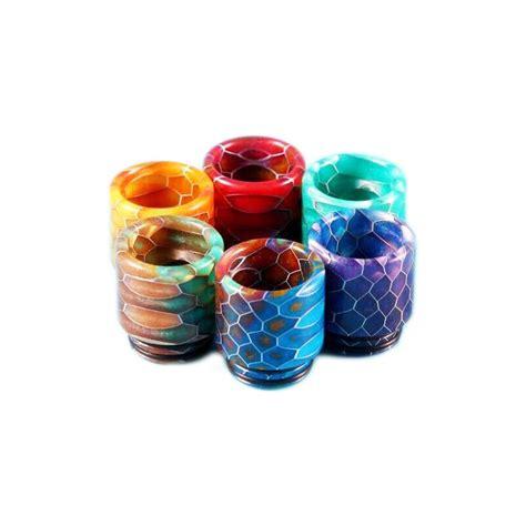 Special Offers Mad Driptip Resin smok snakeskin epoxy resin wide bore drip tips tfv12 tfv8 volcano e cigs