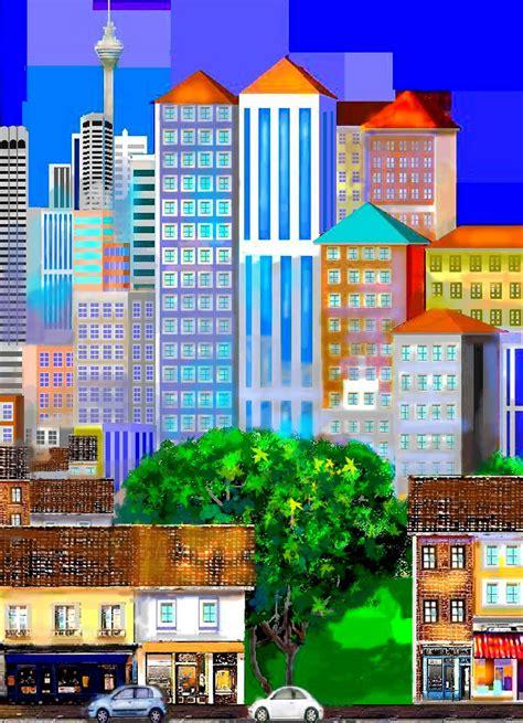 Hasan Abu Bakar Artwork Kuala Lumpur Past And Present