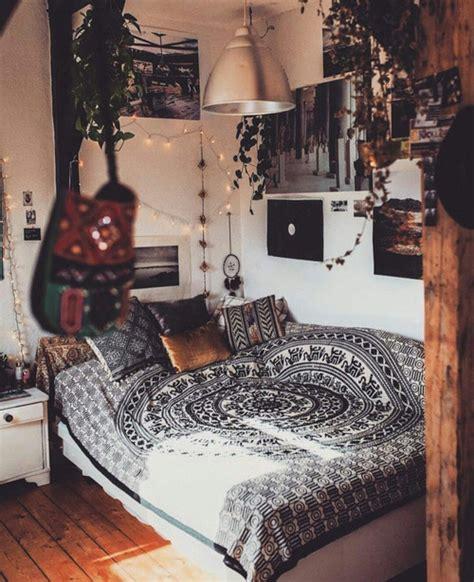 Bedroom Inspo Bedroom Hippie Plants Wood Bedroom Inspo Image