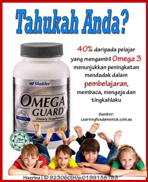 Minyak Ikan Omega Guard officially a working at home wahm khasiat minyak