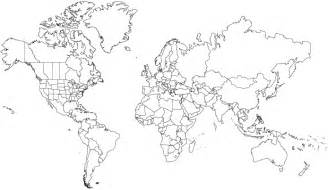 Blank World Map Quiz by Mcox Ap European History