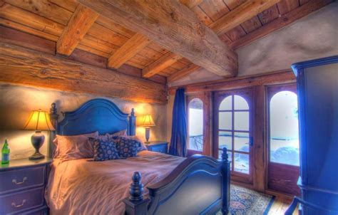 extreme bedrooms charming euro home chalet chic to the extreme