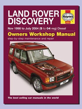 land rover discovery tdi manual