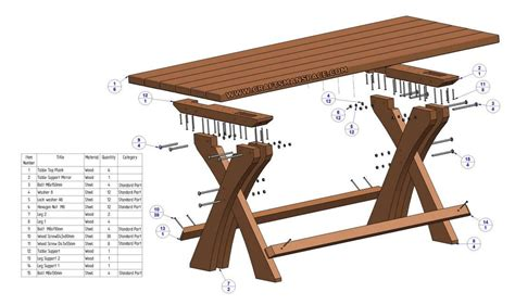 Table Parts by Lager Seating Set Plan