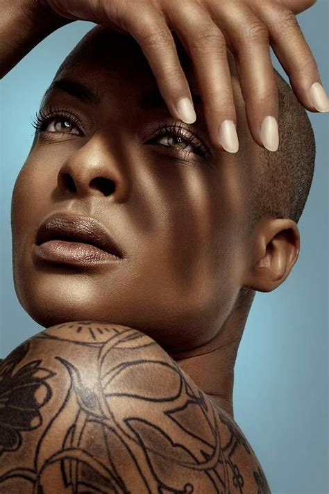 african american women with low or bald heads hot inked girls bald heads and inked girls on pinterest