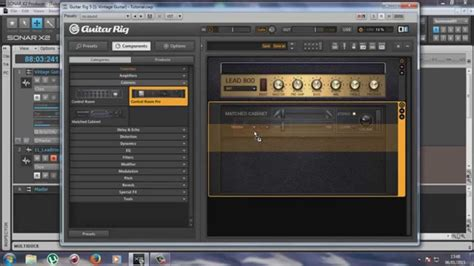 tutorial guitar rig 5 pro tutorial guitar rig criando presets no guitar rig 5