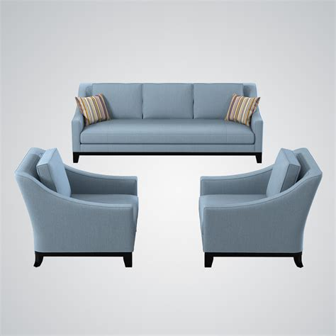 chair and sofa set 3d model baker neue sofa chair