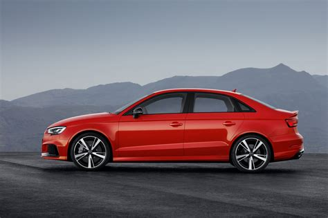 audi rs3 sedan 2017 audi rs 3 sedan unveiled with 294kw 5 cyl engine
