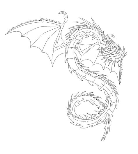scauldron dragon coloring page scauldron bouncie new how to train your dragon coloring