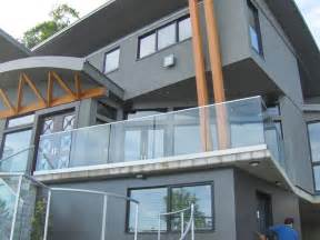 handrail design inc glass railings contemporary exterior vancouver by