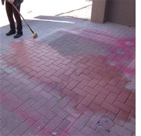 Home Dzine Use Paint To Bring Concrete To Life Painting Patio Pavers